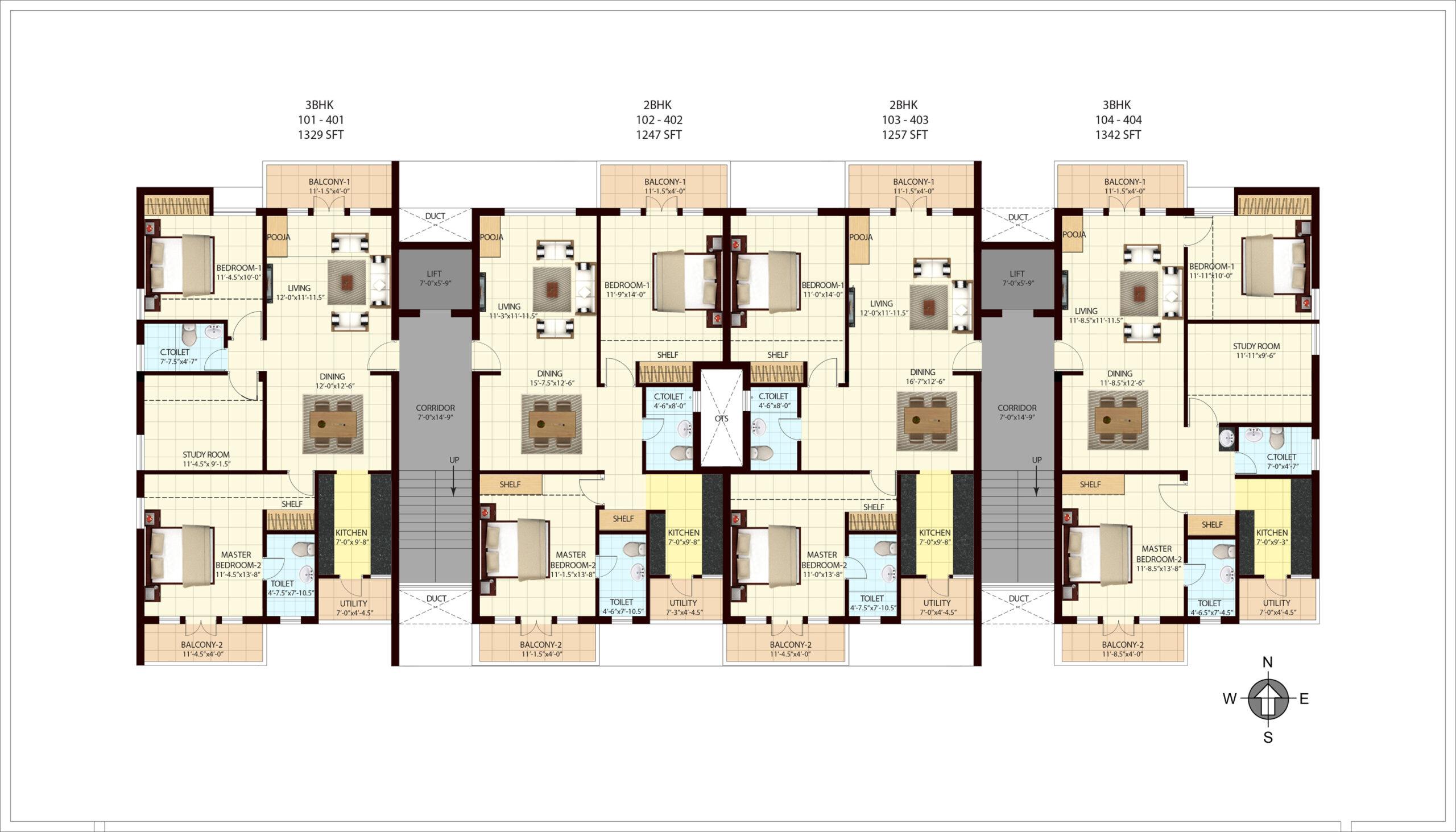 Lakshana Apartments
